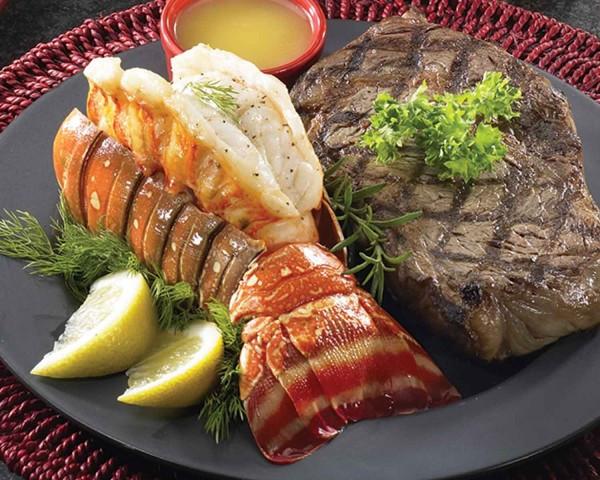 Steak And Lobster Dinner  AJ's Fine Foods seeks local love stories by Feb 2 for