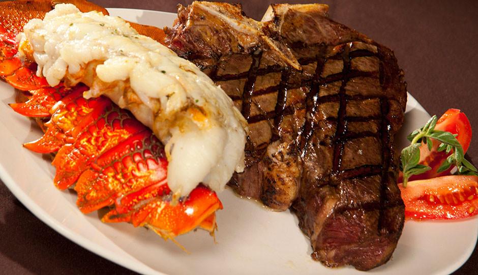 Steak And Lobster Dinner  Dinner Menu