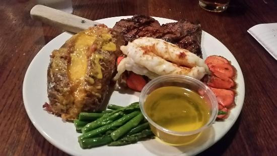 Steak And Lobster Dinner  Question of the Day July 28 – Positivity week – The