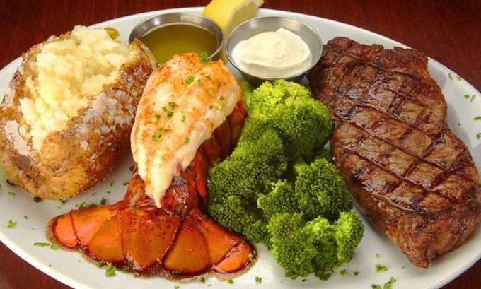 Steak And Lobster Dinner  Best 25 Steak and lobster ideas on Pinterest