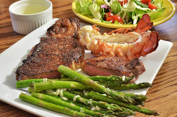 Steak And Lobster Dinner  Where s the Beef America's Biggest Steaks