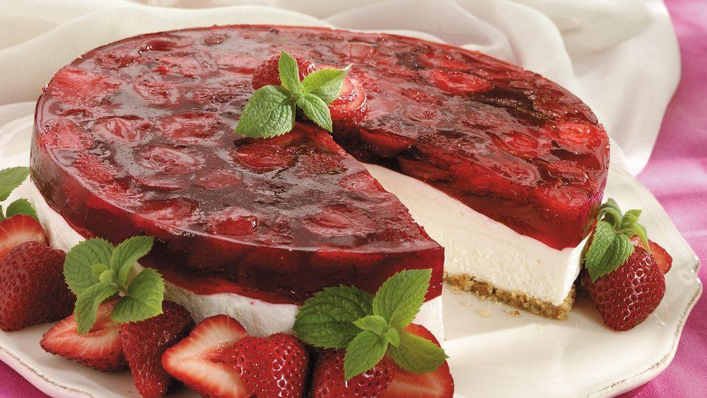 Strawberry Cream Cheese Desserts  Strawberry Cream Cheese Dessert recipe from Pillsbury