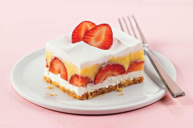 Strawberry Cream Cheese Desserts  Layered Strawberry Dessert Kraft Recipes
