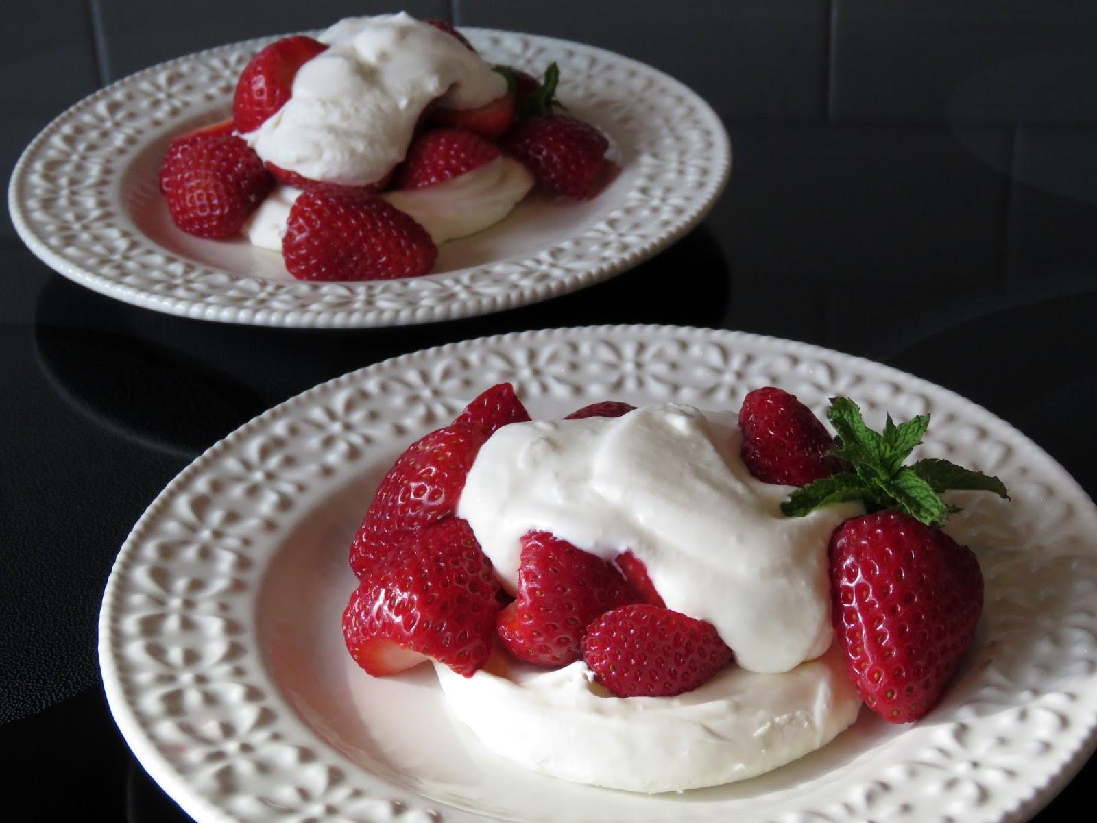 Strawberry Cream Cheese Desserts  Mennonite Girls Can Cook Strawberry Cream Cheese Clouds
