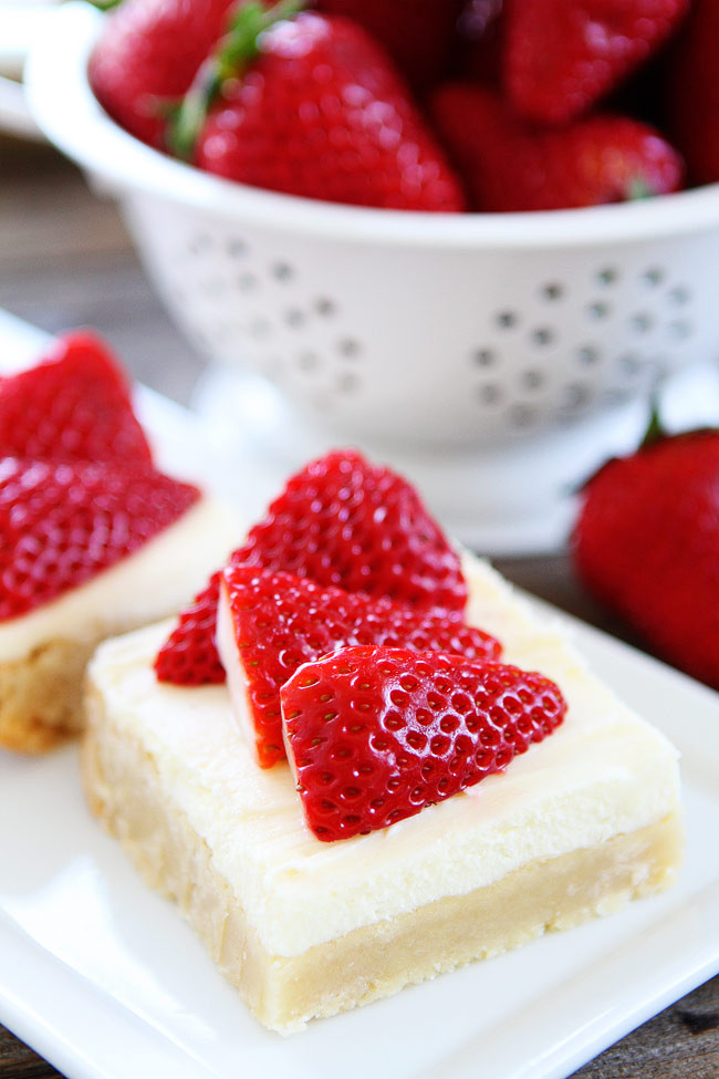 Strawberry Cream Cheese Desserts  strawberry and cream dessert ideas