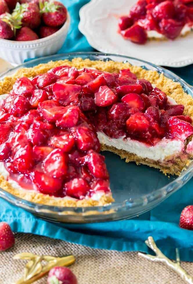 Strawberry Cream Cheese Desserts  strawberries and cream cheese dessert