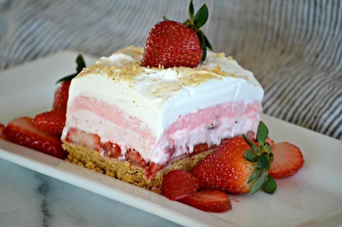 Strawberry Graham Cracker Dessert  Strawberry Cheesecake Dream Bars 365 Days of Baking