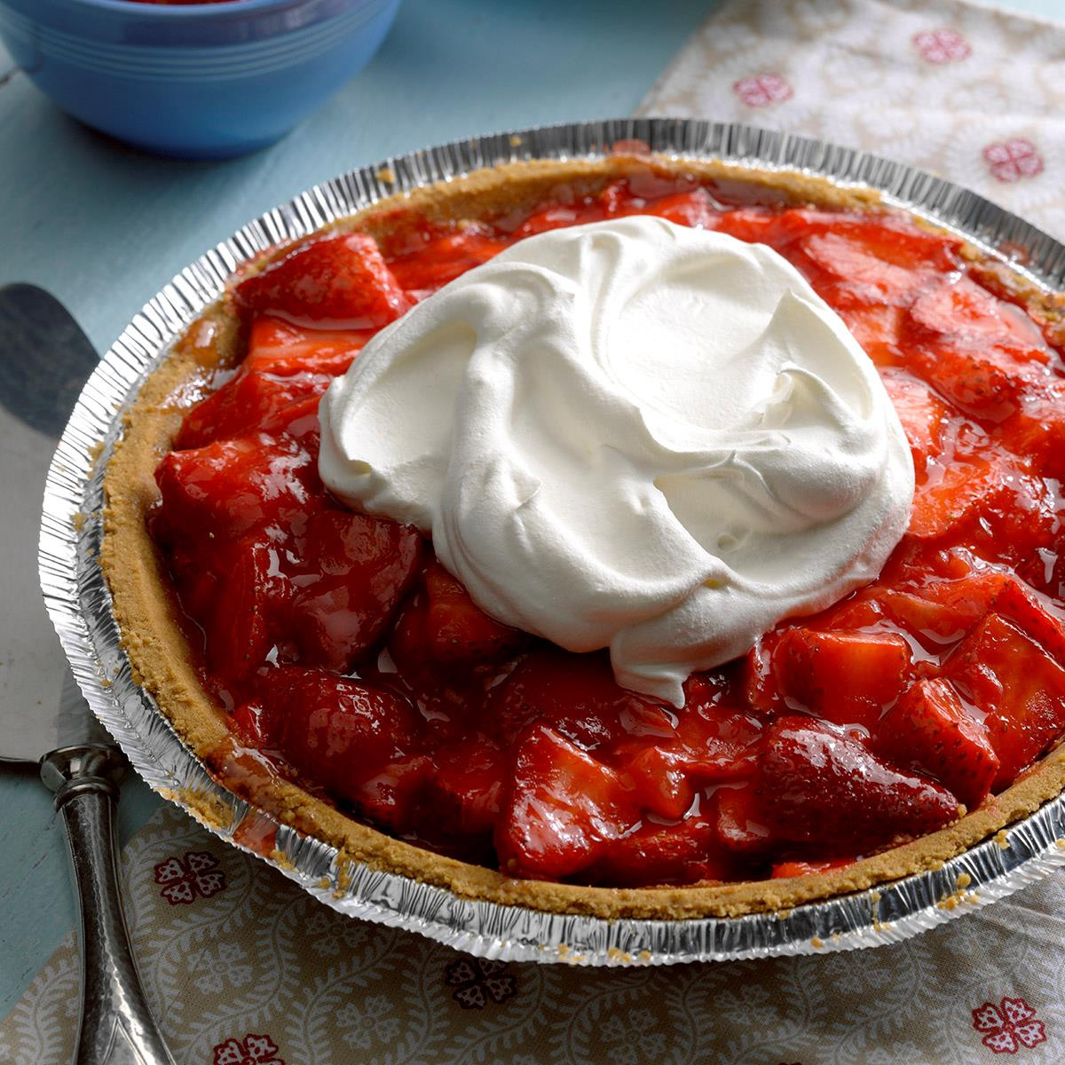 Strawberry Pie Recipes  Light Strawberry Pie Recipe
