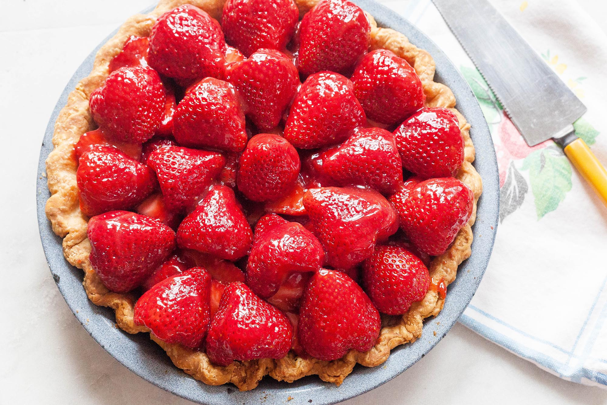 Strawberry Pie Recipes  Fresh Strawberry Pie Recipe