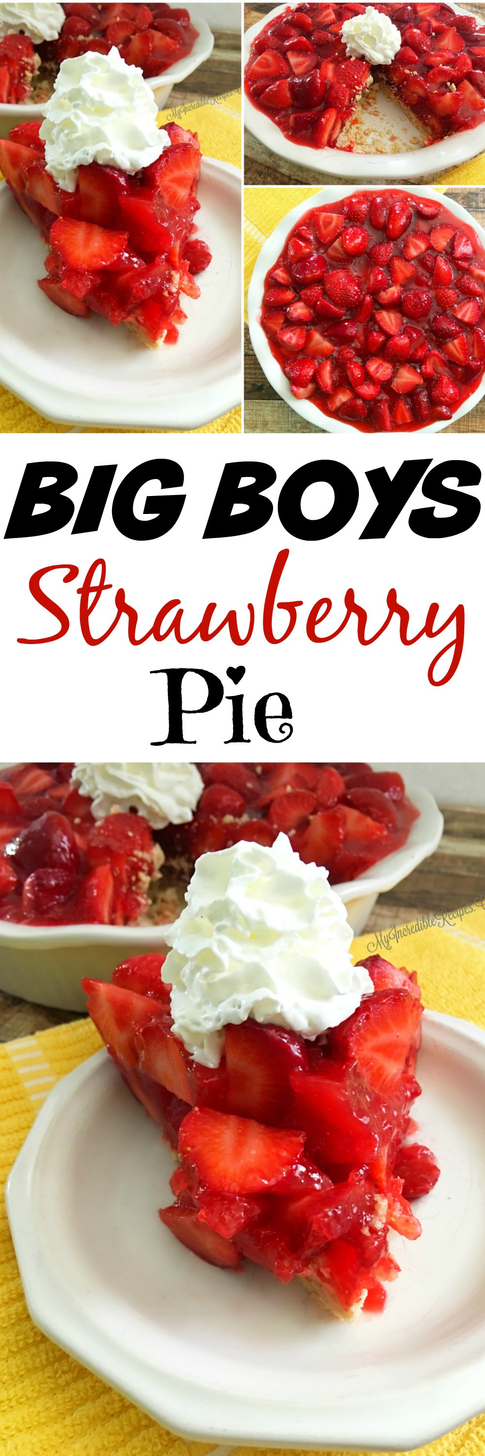 Strawberry Pie Recipes  Strawberry Pie