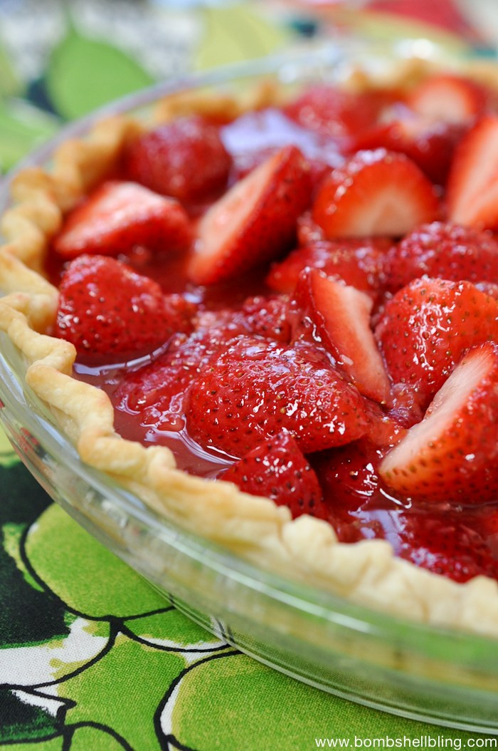 Strawberry Pie Recipes  Strawberry Pie Recipe