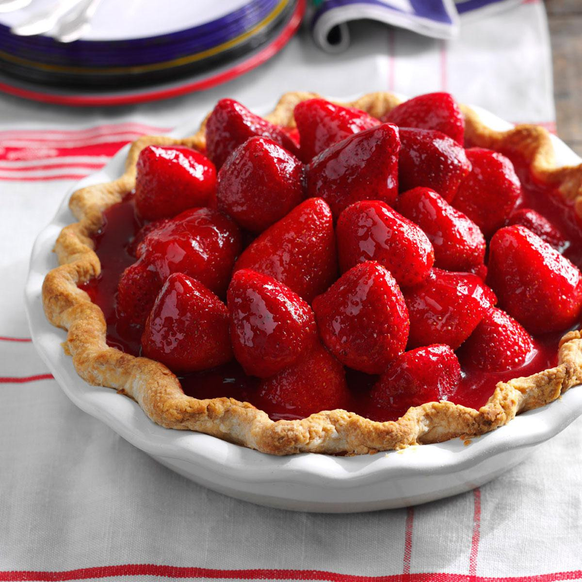 Strawberry Pie Recipes  Best Ever Fresh Strawberry Pie Recipe
