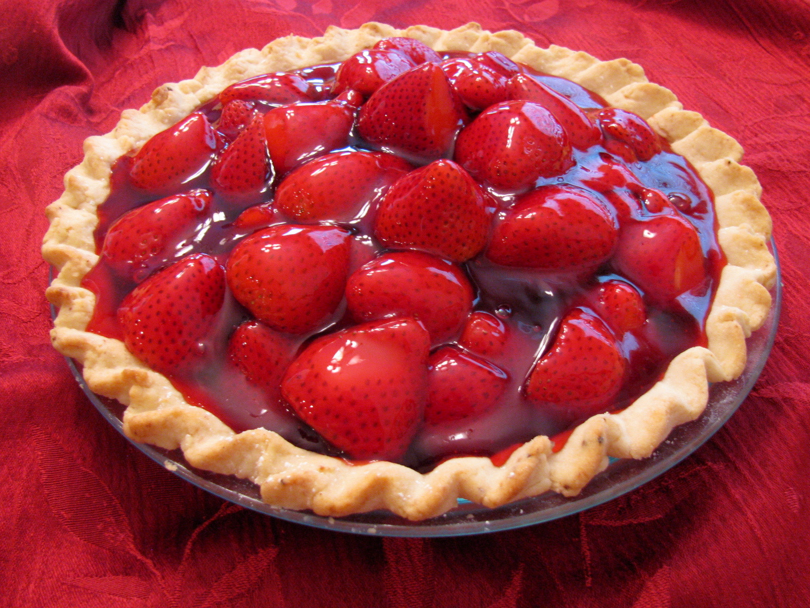 Strawberry Pie Recipes  Fresh Strawberry Pie