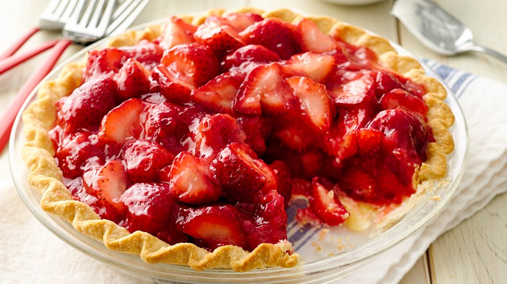 Strawberry Pie Recipes  Fresh Strawberry Pie recipe from Pillsbury