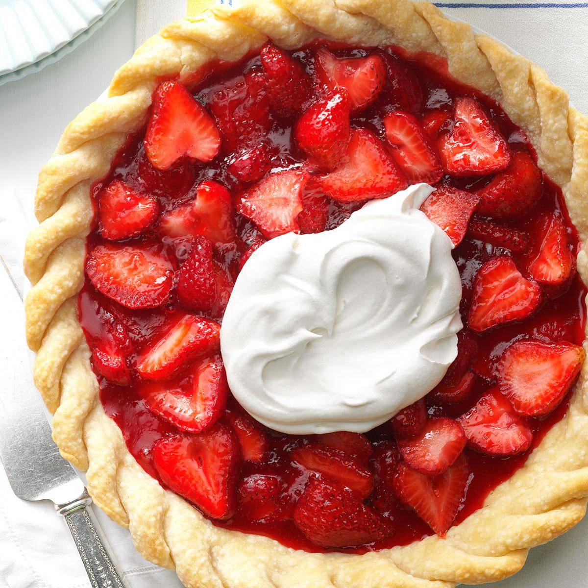 Strawberry Pie Recipes  Easy Fresh Strawberry Pie Recipe