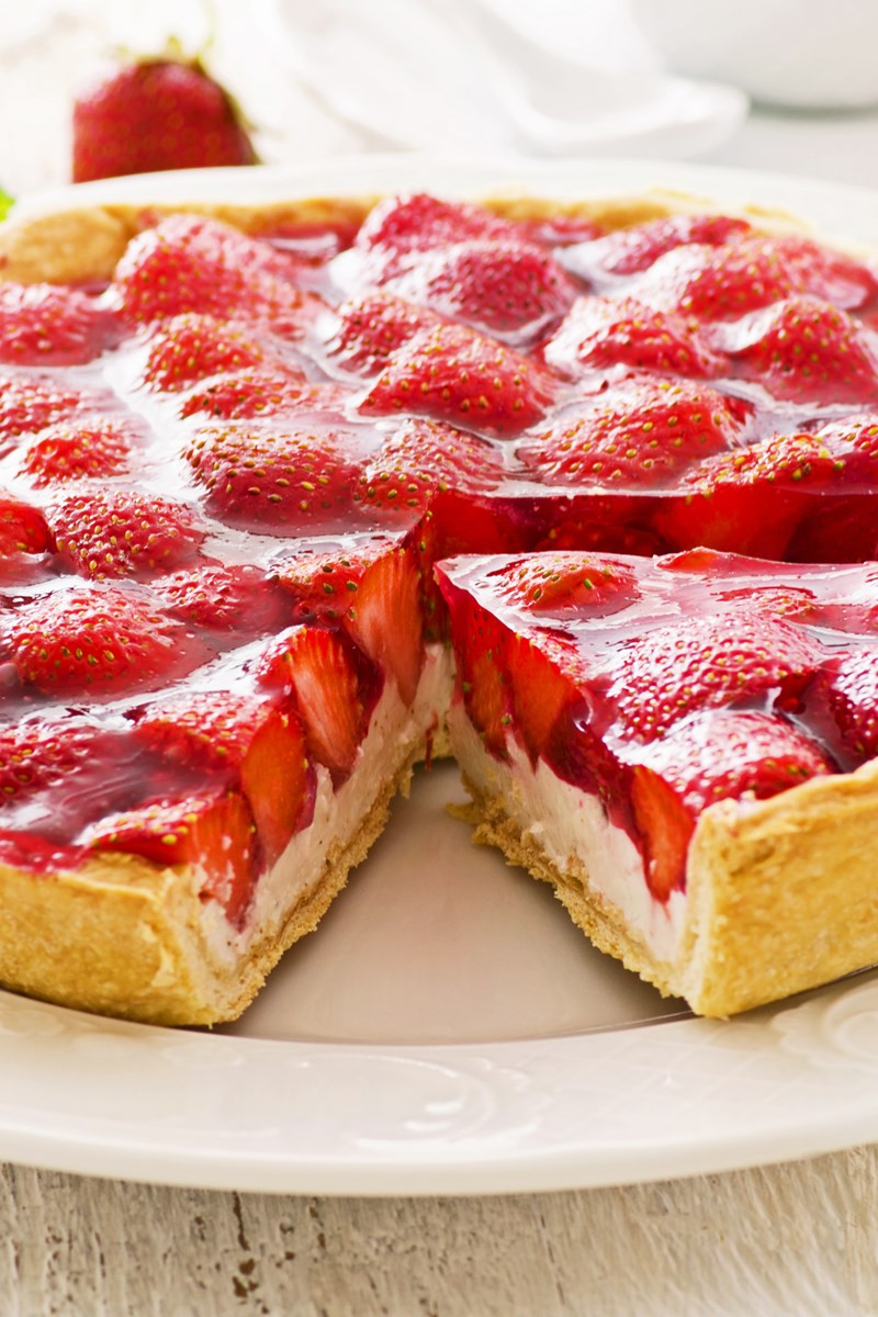 Strawberry Pie Recipes  Strawberry Cream Cheese Pie