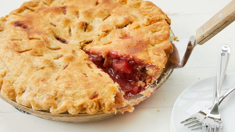 Strawberry Rhubarb Pie Recipes  Strawberry Rhubarb Pie Recipe BettyCrocker