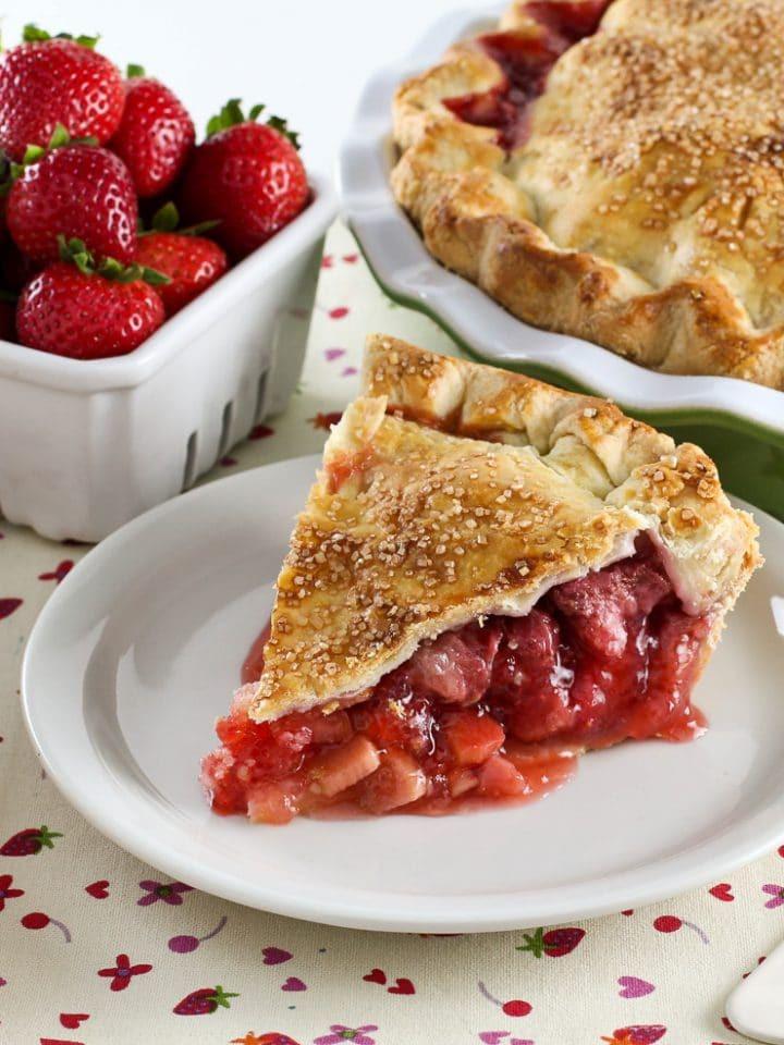 Strawberry Rhubarb Pie Recipes  Strawberry Rhubarb Pie Tori Avey