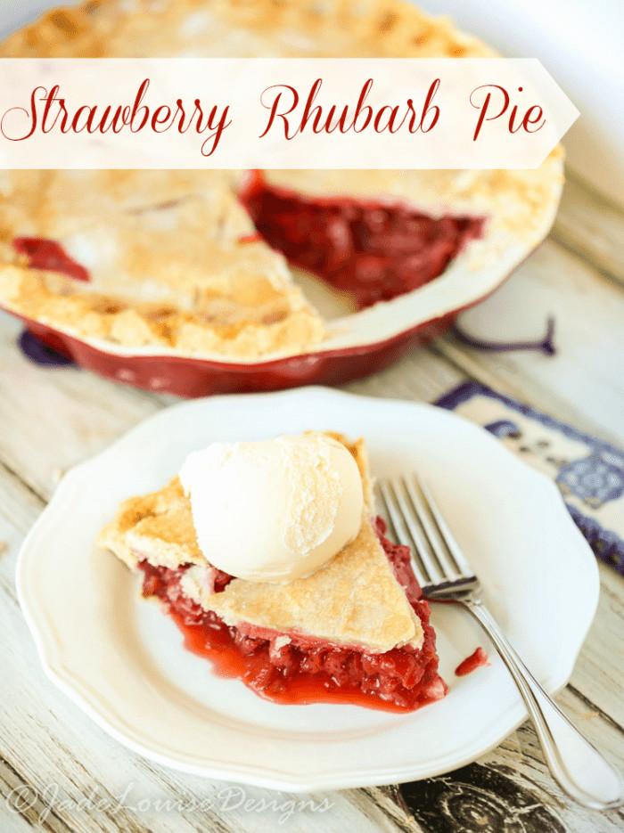 Strawberry Rhubarb Pie Recipes  Best Ever Strawberry Rhubarb Pie Recipe