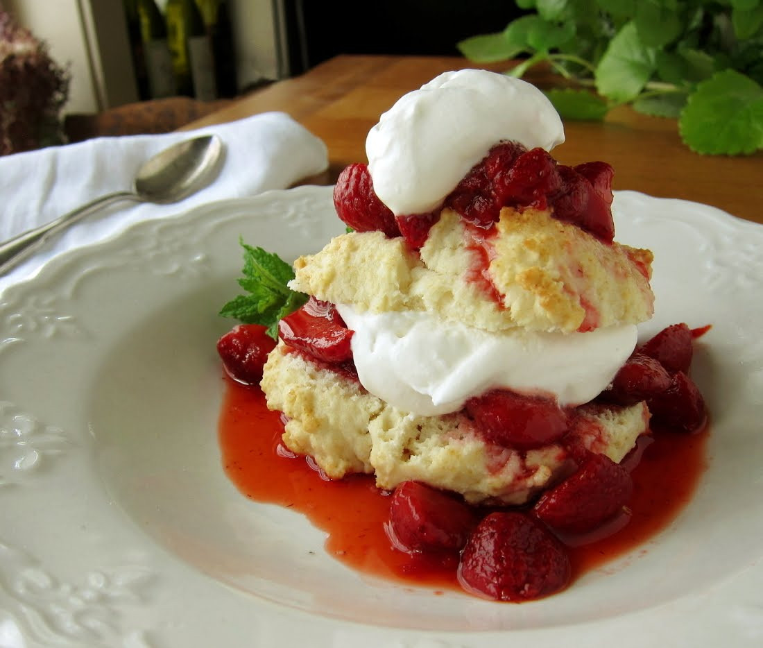 Strawberry Shortcake Biscuits Recipes  last call for corn old fashioned strawberry shortcake