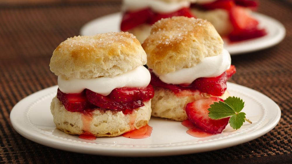 Strawberry Shortcake Biscuits Recipes  Strawberry Biscuit Shortcakes Recipe Pillsbury