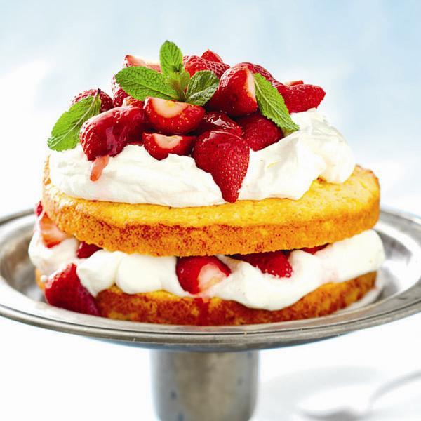 Strawberry Shortcake Biscuits Recipes  Polenta strawberry shortcake recipe Chatelaine