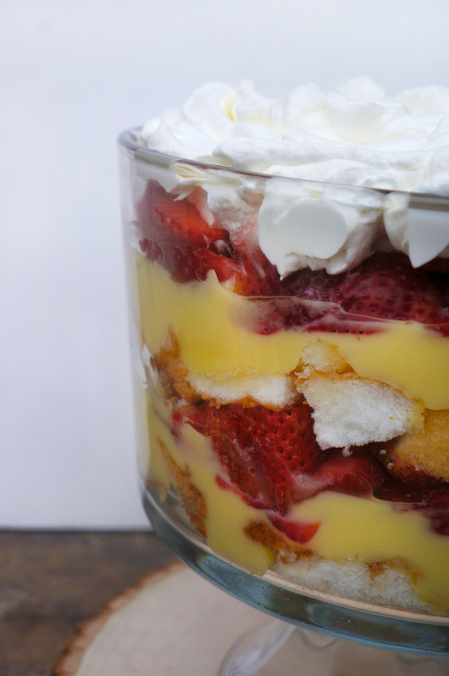 Strawberry Shortcake Trifle  Strawberry Shortcake Trifle Recipe Popsicle Blog