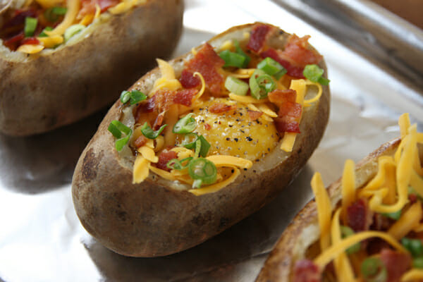 Stuffed Baked Potato  An Idaho Sunrise Egg Stuffed Baked Potatoes Our Best Bites