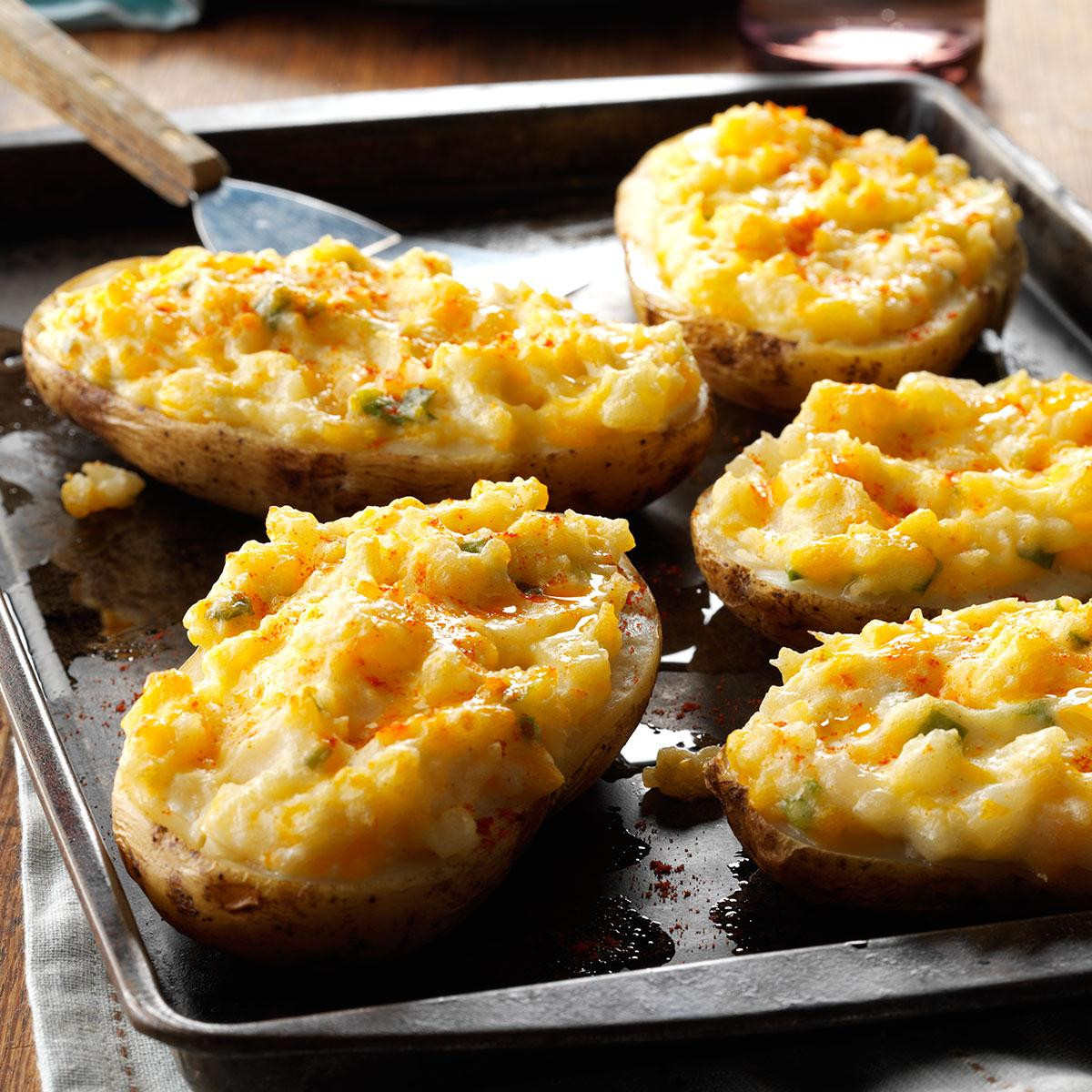Stuffed Baked Potato  Cheesy Stuffed Baked Potatoes Recipe
