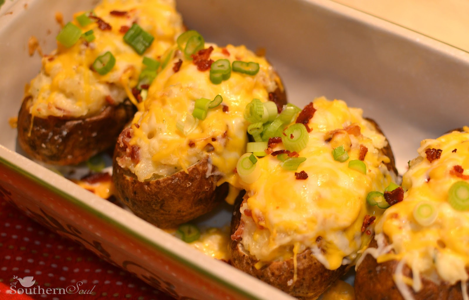Stuffed Baked Potato  Stuffed Baked Potatoes Recipe — Dishmaps
