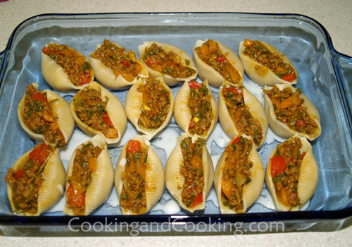 Stuffed Shells With Ground Beef  Stuffed Shells with Ground Beef