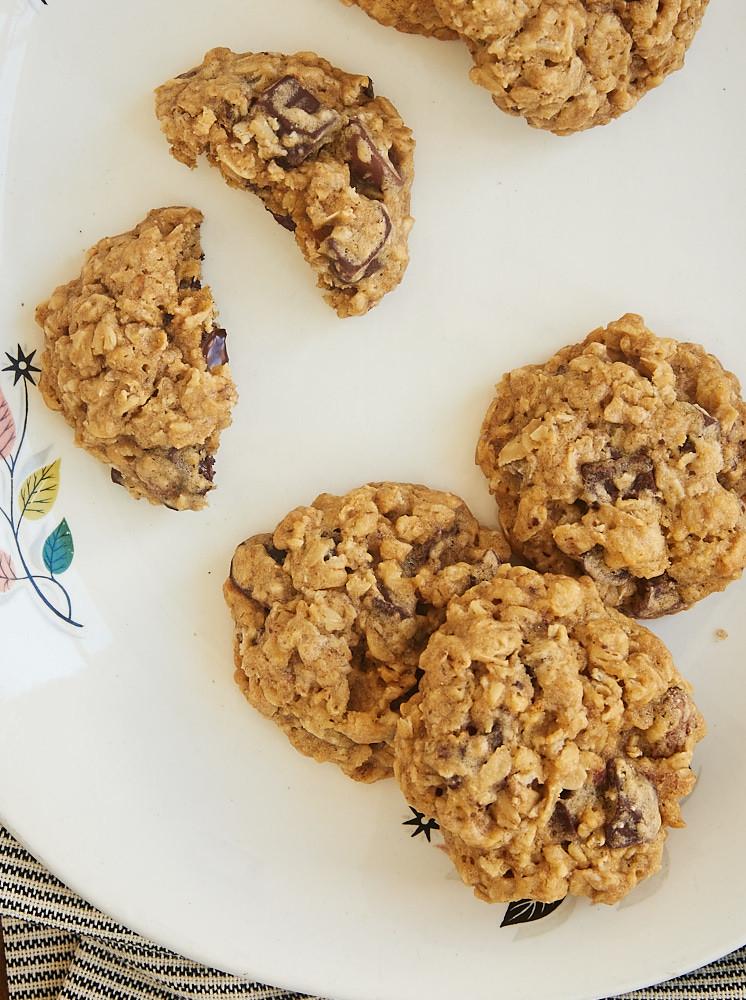 Sugar Free Chocolate Chip Cookies  Brown Sugar Oatmeal Chocolate Chip Cookies Bake or Break