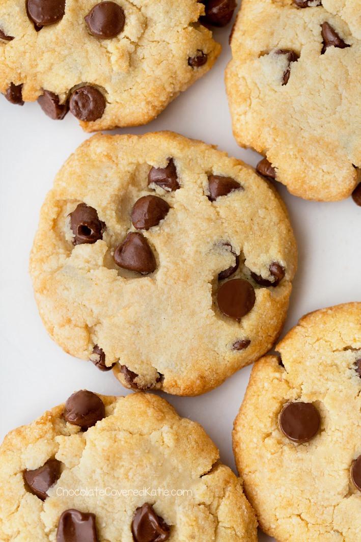 Sugar Free Chocolate Chip Cookies  Keto Cookies The BEST Low Carb Chocolate Chip Cookies