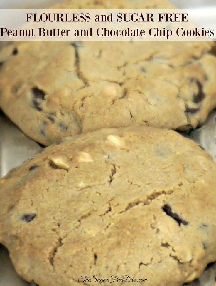 Sugar Free Chocolate Chip Cookies  167 best Cookies images on Pinterest