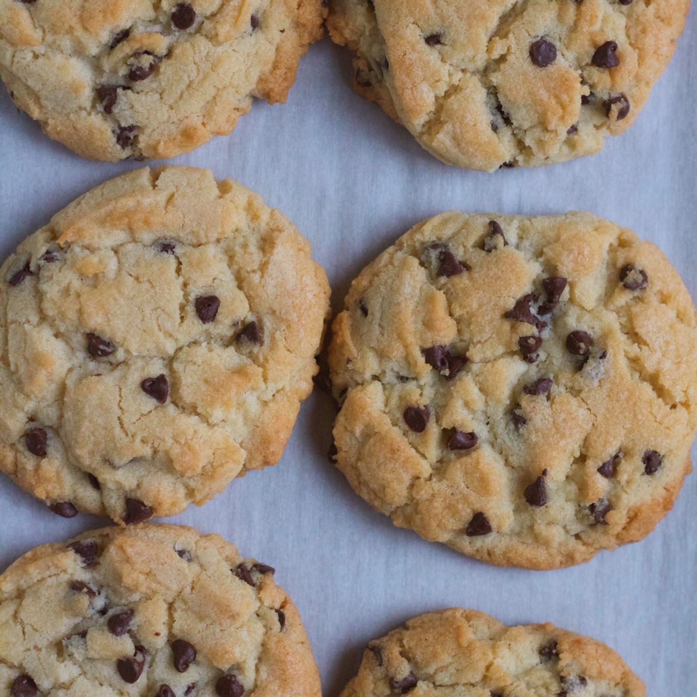 Sugar Free Chocolate Chip Cookies  Chocolate Chip Sugar Cookies • Hip Foo Mom