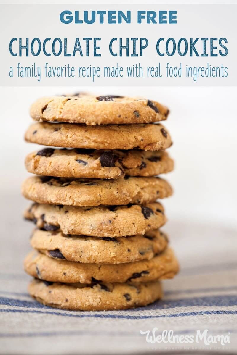 Sugar Free Chocolate Chip Cookies  almond flour sugar free chocolate chip cookies