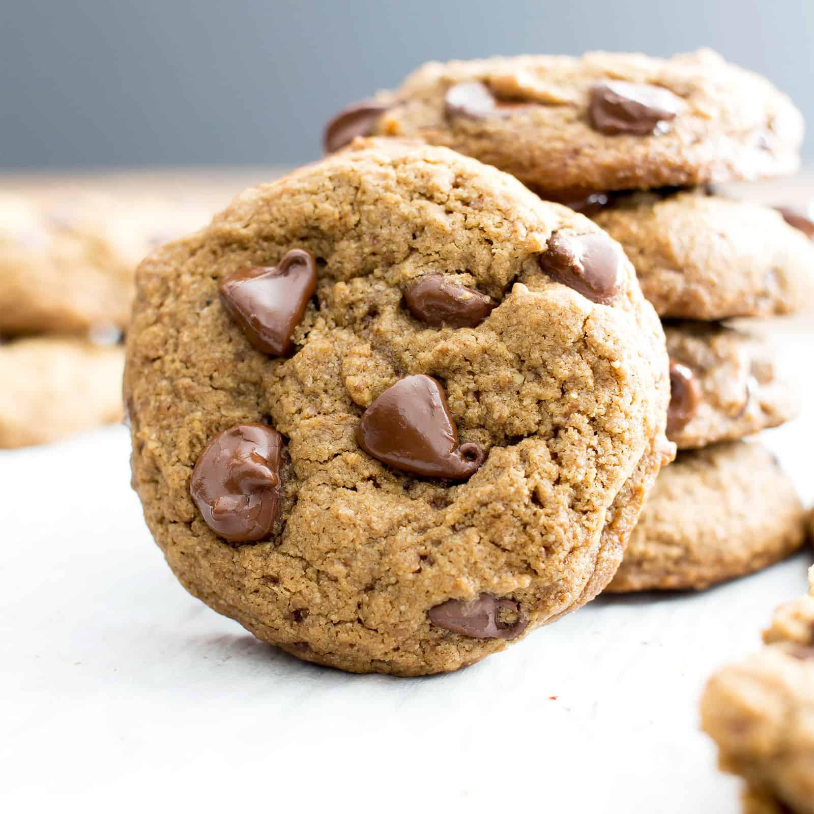 Sugar Free Chocolate Chip Cookies  Vegan Chocolate Chip Cookies Recipe Gluten Free Dairy