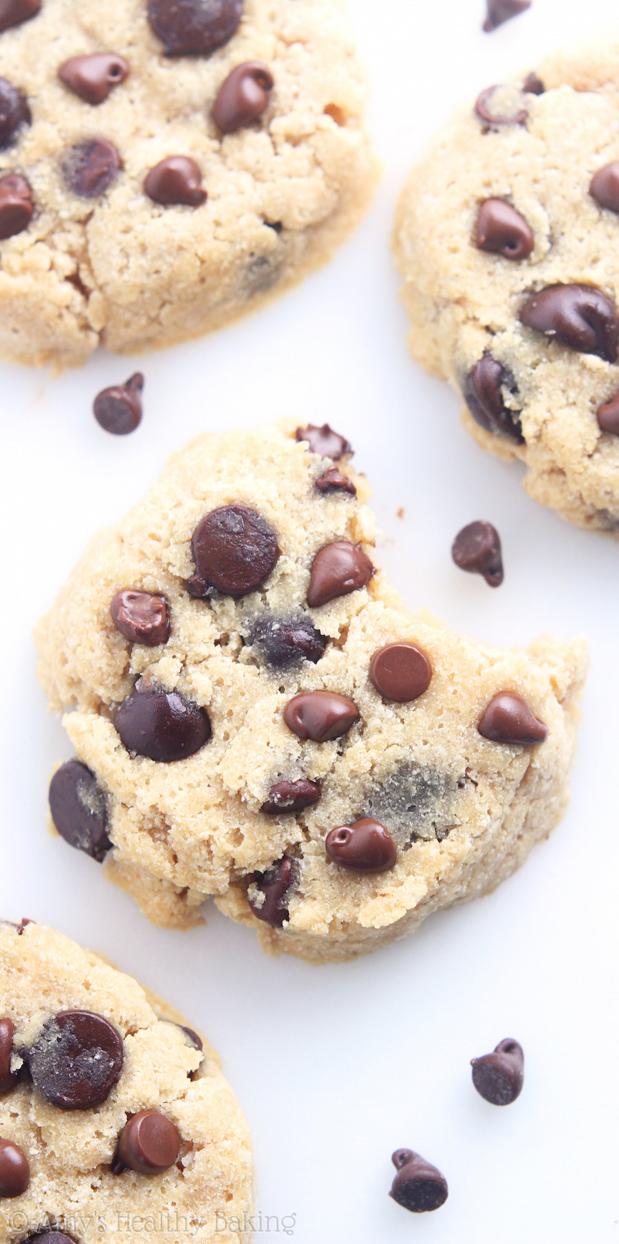 Sugar Free Chocolate Chip Cookies  Coconut Flour Chocolate Chip Cookies