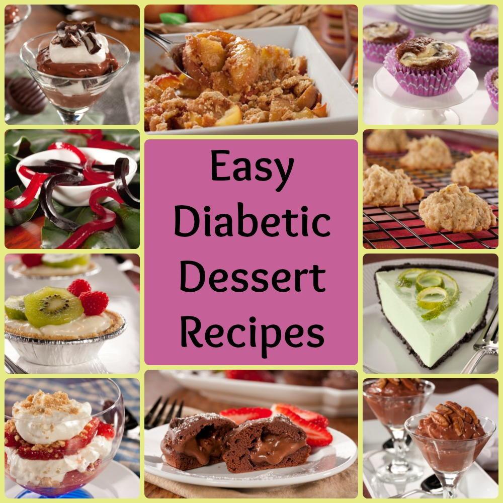 Sugar Free Dessert Recipes For Diabetics  32 Easy Diabetic Dessert Recipes
