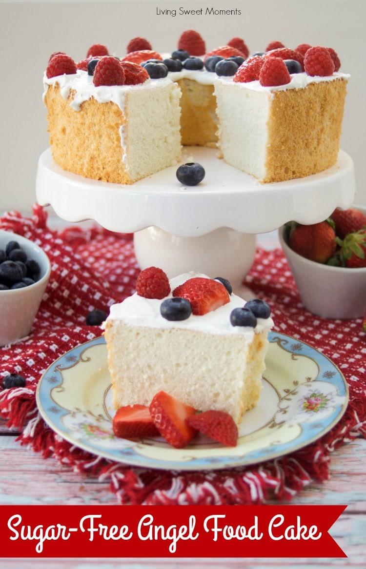 Sugar Free Dessert Recipes For Diabetics  Incredibly Delicious Sugar Free Angel Food Cake Living