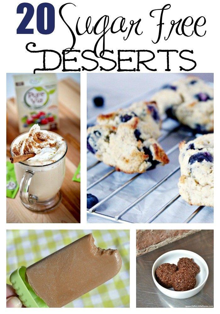 Sugar Free Dessert Recipes For Diabetics  20 Sugar Free Desserts