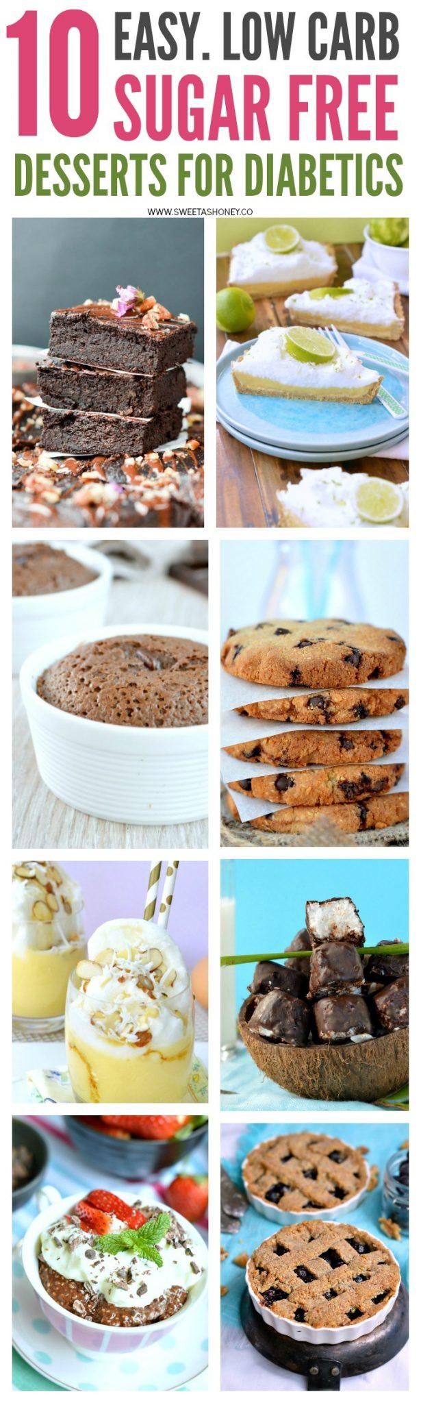 Sugar Free Dessert Recipes For Diabetics  10 Sugar Free Desserts for diabetics Sweetashoney
