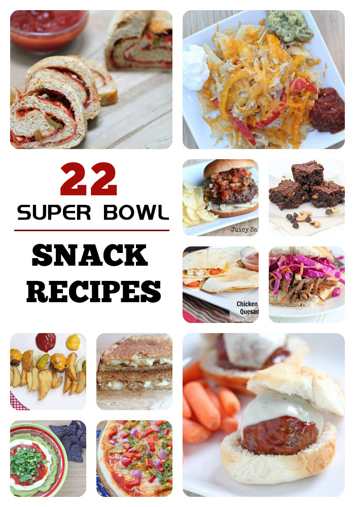 Super Bowl Dinner Ideas  22 Big Game Snack Recipes