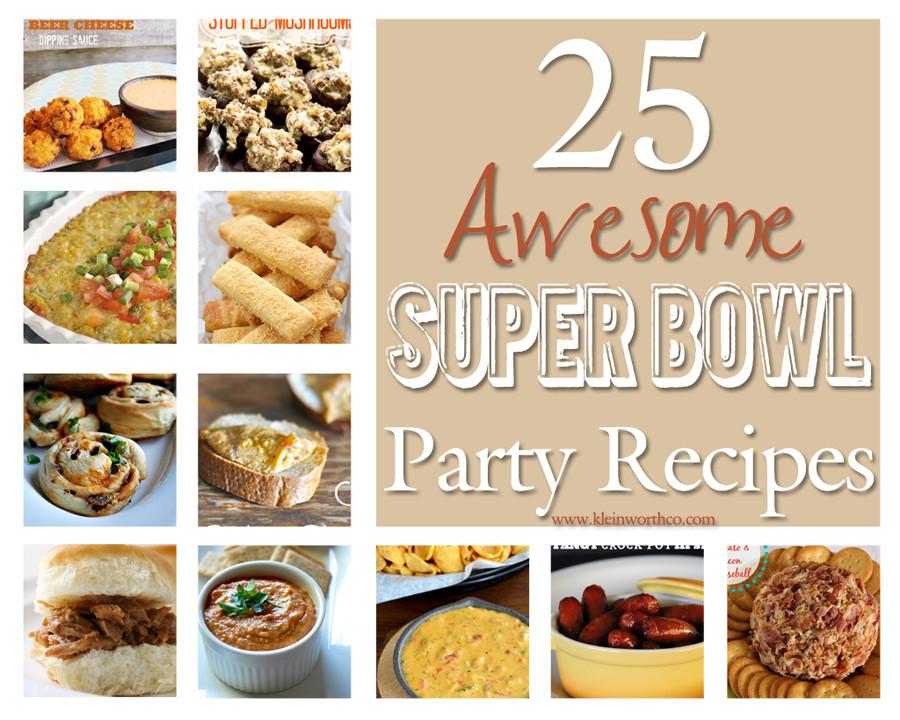 Super Bowl Dinner Ideas  20 Easy Dinner Ideas Kleinworth & Co