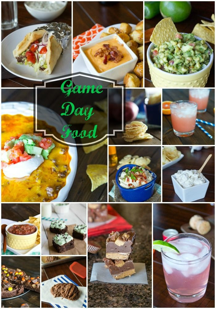 Super Bowl Dinner Ideas  Game Day Food Ideas