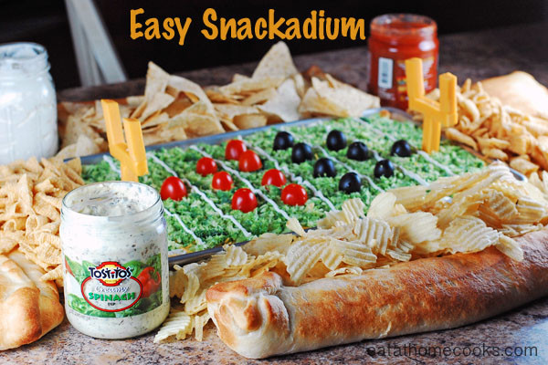 Super Bowl Dinner Ideas  Easy Snackadium for Super Bowl or other Football Game