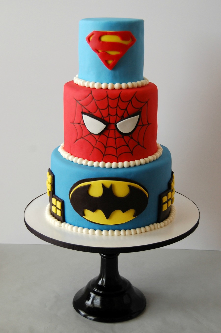 Superhero Birthday Cake  Superhero Birthday Cake CakeCentral