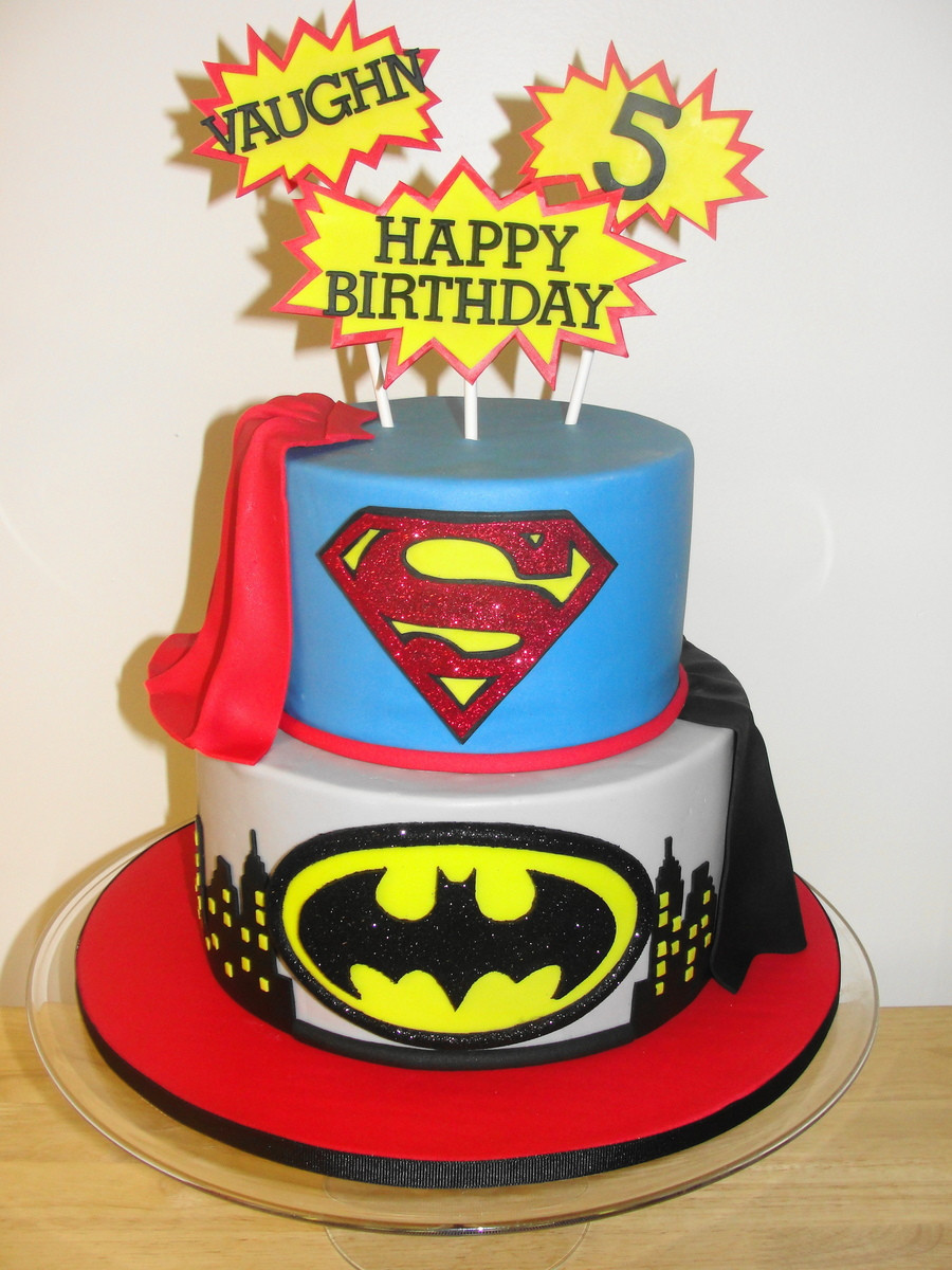 Superhero Birthday Cake  Superhero Birthday CakeCentral