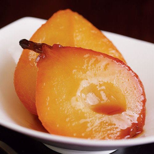 Sweet Honey Dessert  Sweet Wine & Honey Roasted Pears FineCooking