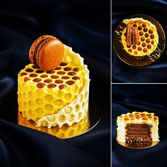 Sweet Honey Dessert  Honey cake Chefs and Honey on Pinterest